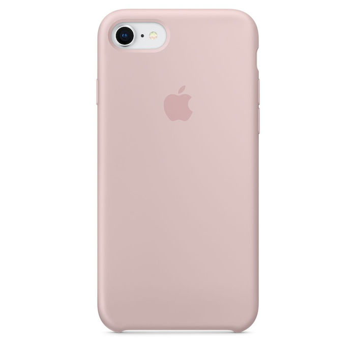 APPLE Custodia in silicone per iPhone 8 / 7 - Rosa sabbia - thumb - MediaWorld.it