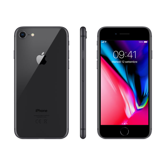 APPLE iPhone 8 64GB Grigio Siderale - PRMG GRADING OOBN - SCONTO 15,00% - thumb - MediaWorld.it