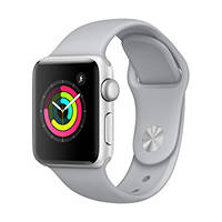 Smartwatch Apple Watch Series 3 38mm Silver su Mediaworld.it