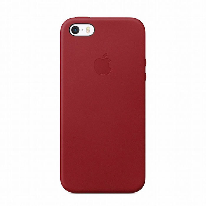 APPLE COVER IN PELLE PER IPHONE SE - (PRODUCT) RED - thumb - MediaWorld.it