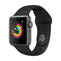Smartwatch Apple Watch Series 3 38mm Space Grey - Cinturino Sport Nero su Mediaworld.it
