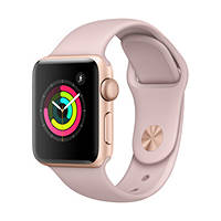 Smartwatch Apple Watch Series 3 38mm Gold su Mediaworld.it