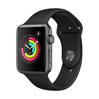 Smartwatch Apple Watch Series 3 42mm Space Grey - Cinturino Sport Nero su Mediaworld.it