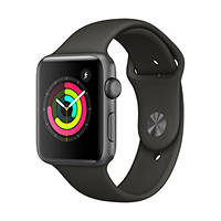Smartwatch Apple Watch Series 3 42mm Space Grey - Cinturino Sport Grigio su Mediaworld.it