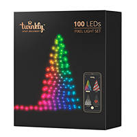 Luci decorative 100 Led con effetti luminosi personalizzabili da Smartphone TWINKLY Luci decorative 100 Led su Mediaworld.it