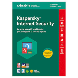 Software antivirus KASPERSKY Internet Security 5PC su Mediaworld.it