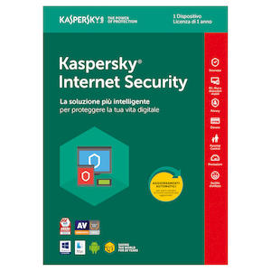 Software antivirus KASPERSKY Internet Security 1PC su Mediaworld.it