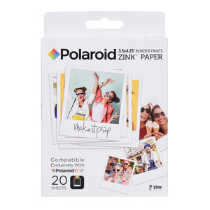 POLAROID CARTA POP ZINK 3X4' 20 F - thumb - MediaWorld.it