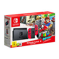 Console nintendo switch NINTENDO Switch + Super Mario Odyssey su Mediaworld.it