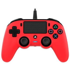 BIG BEN Controller per PS4 con cavo Rosso - MediaWorld.it