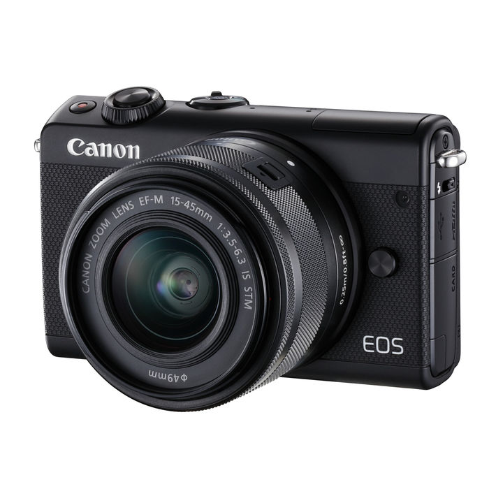 CANON EOS M100 + 15-45 IS STM BLACK - thumb - MediaWorld.it