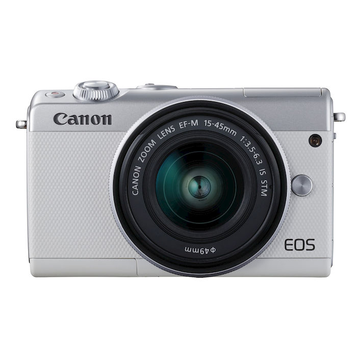 CANON EOS M100 + 15-45 IS STM WHITE - thumb - MediaWorld.it