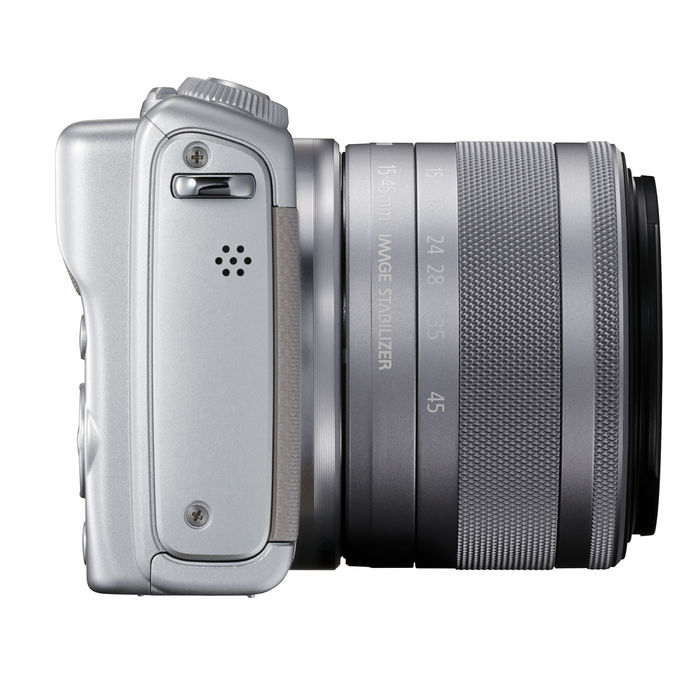 CANON EOS M100 + 15-45 IS STM GREY - thumb - MediaWorld.it