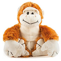 Peluche riscaldabile e refrigerabile MACOM Warmpuppies Monkey su Mediaworld.it
