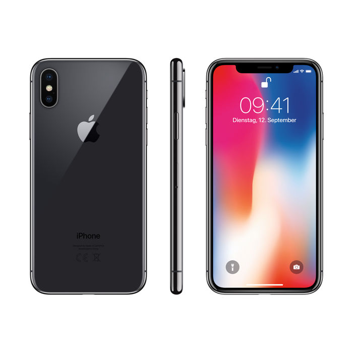 APPLE iPhone X 64 GB Grigio Siderale - PRMG GRADING OOCN - SCONTO 20,00% - thumb - MediaWorld.it