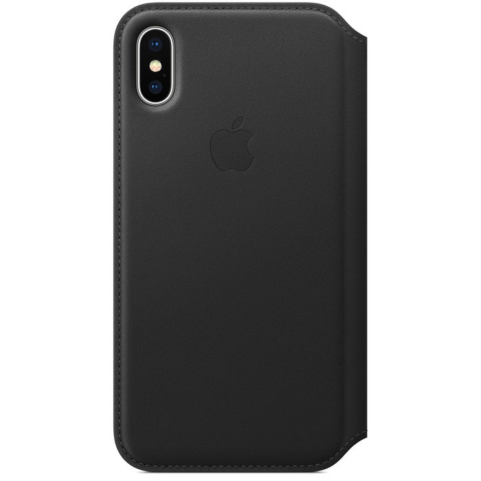 APPLE Custodia Folio per iPhone X MQRV2ZM/A Nero - PRMG GRADING ONBN - SCONTO 15,00% - thumb - MediaWorld.it