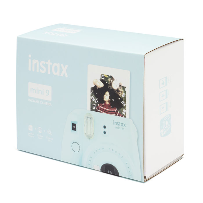 FUJIFILM INSTAX MINI 9 + PELLICOLA DA 10 ICE BLUE - thumb - MediaWorld.it