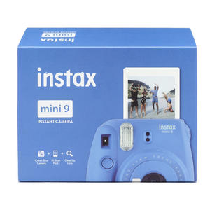 FUJIFILM INSTAX MINI 9 + PELLICOLA DA 10 COBALT BLUE - MediaWorld.it