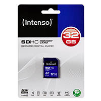 Scheda di memoria SDHC INTENSO SD CARD CLASS 4 32GB su Mediaworld.it