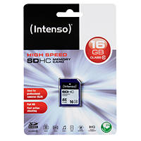 Scheda di memoria SDHC INTENSO SDHC CL.10 16GB su Mediaworld.it