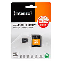 Scheda di memoria Micro SDHC INTENSO MICRO SD CARD CLASS 4 32GB su Mediaworld.it