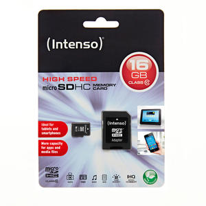 INTENSO MICRO SD CARD CLASS 10 16GB