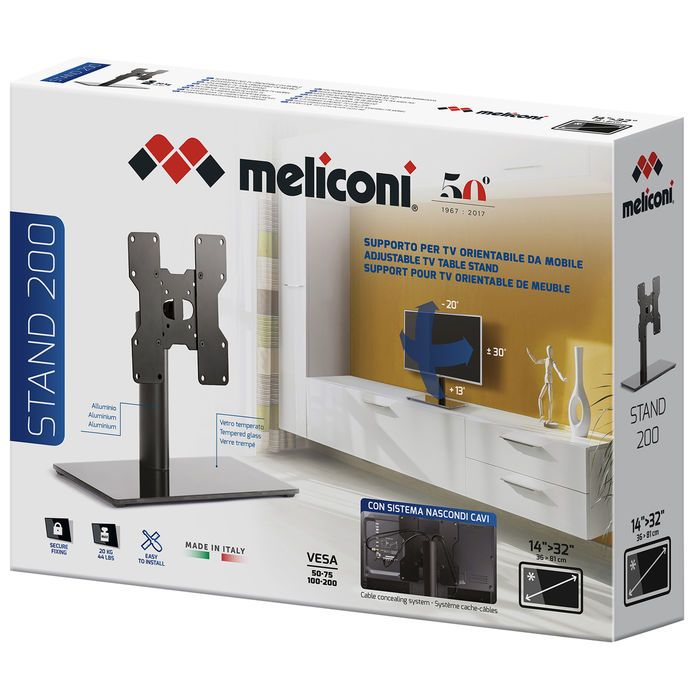 MELICONI STAND 200 - PRMG GRADING KNBN - SCONTO 22,50% - thumb - MediaWorld.it