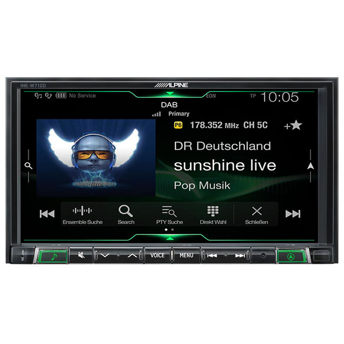 ALPINE ILX-702D - thumb - MediaWorld.it