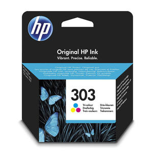 HP 303 Tricromia cartuccia d'inchiostro originale T6N01AE - thumb - MediaWorld.it