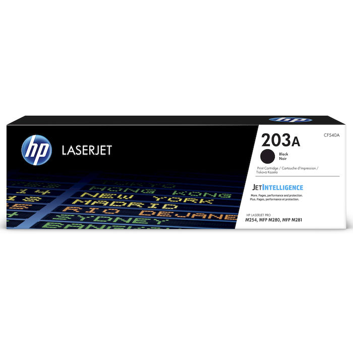 HP 203A Nero cartuccia toner originale LaserJet CF540A - thumb - MediaWorld.it