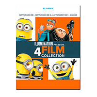 Blu-Ray - Animazione Cattivissimo me - 4 Film Collection - Blu-ray su Mediaworld.it
