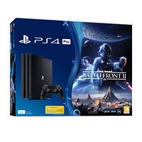 Console PS4 SONY PS4 1TB Pro + Star Wars Battlefront II su Mediaworld.it