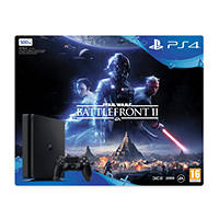 SONY PS4 500GB E + Star Wars Battlefront II