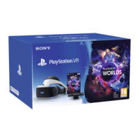 Visore RV SONY PlayStation VR CUHZVR1 + Camera + VR Worlds (voucher) su Mediaworld.it