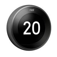 Termostato Nest Learning Thermostat NEST Learning Thermostat Black su Mediaworld.it