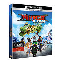 Blu-Ray - Animazione Lego Ninjago - Il film - Ultra HD - Blu-ray su Mediaworld.it