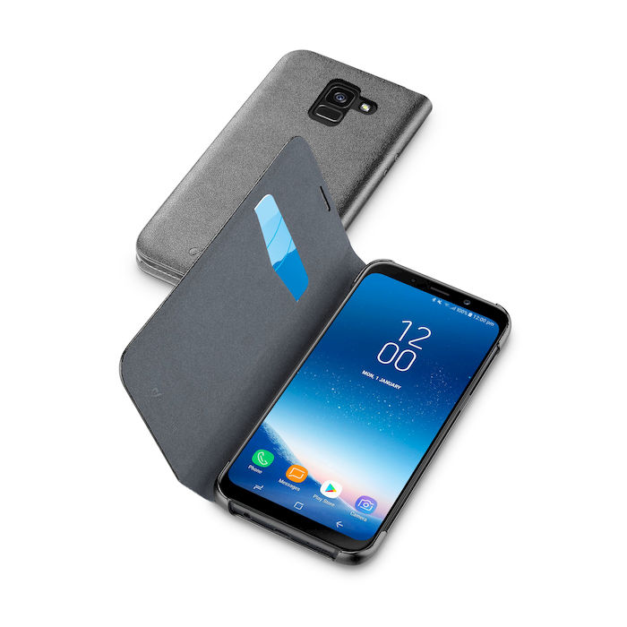 Cellularline Custodia a libro per Galaxy A8 nero - thumb - MediaWorld.it