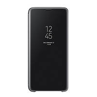 Cover Clear View Standing per Samsung Galaxy S9 SAMSUNG Galaxy S9 Clear View Standing Cover Black su Mediaworld.it