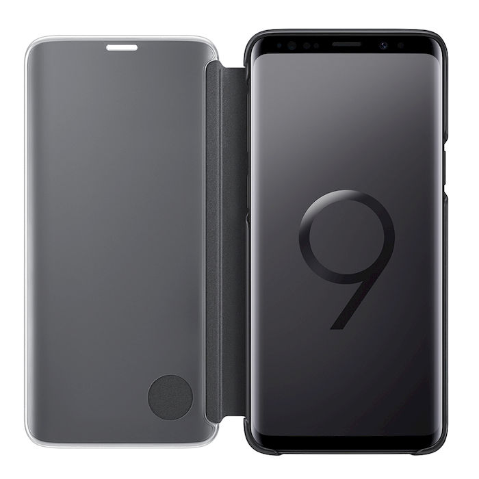 SAMSUNG Clear View Standing Cover for Galaxy S9+ Black - thumb - MediaWorld.it
