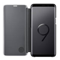 Clear View Standing S9+ SAMSUNG Clear View Standing Cover for Galaxy S9+ Black su Mediaworld.it