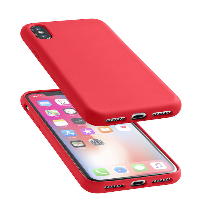 Cellularline Custodia per Iphone X  in silicone soft touch - thumb - MediaWorld.it