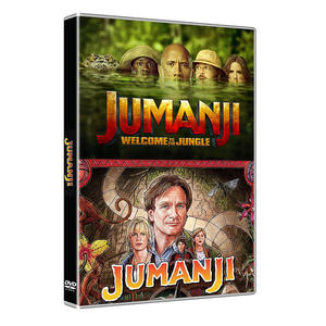 Jumanji Collection: Jumanji + Jumanji - Benvenuti nella giungla - DVD - MediaWorld.it