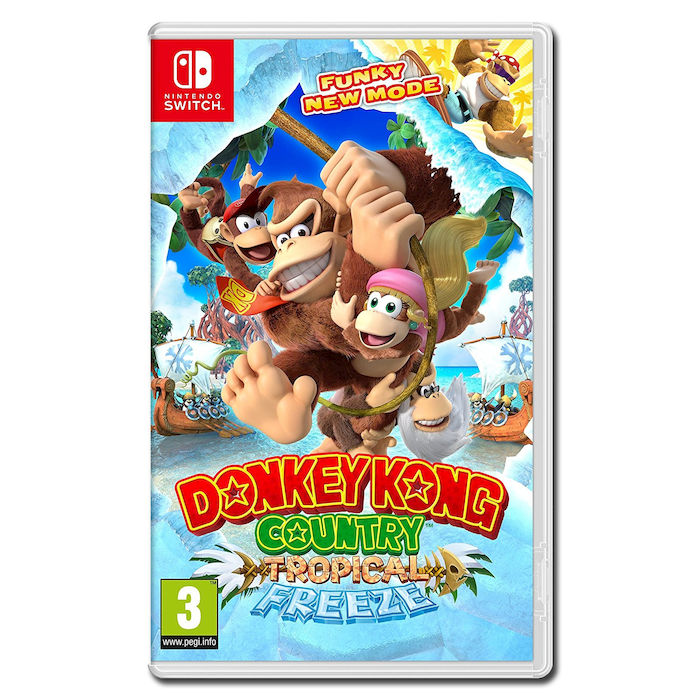 Donkey Kong Country Tropical Freeze - NSW - thumb - MediaWorld.it