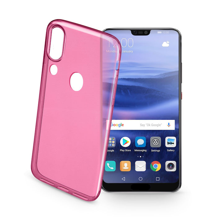 CELLULAR LINE Cover per Huawei P20 Lite COLORCP20LITEP - thumb - MediaWorld.it