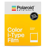 Pellicole I-TYPE a colori con cornice bianca POLAROID Color Film for i-Type su Mediaworld.it