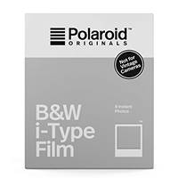 Pellicole I-TYPE in bianco e nero con cornice bianca POLAROID The Originals B&W Film for I-TYPE su Mediaworld.it
