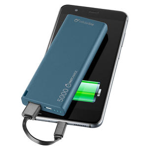 CELLULAR Line Power Bank 5000 mAh Blu - MediaWorld.it