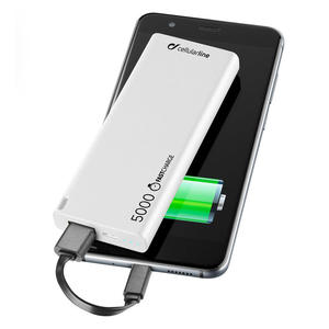 CELLULAR Line Power Bank 5000 mAh White - MediaWorld.it