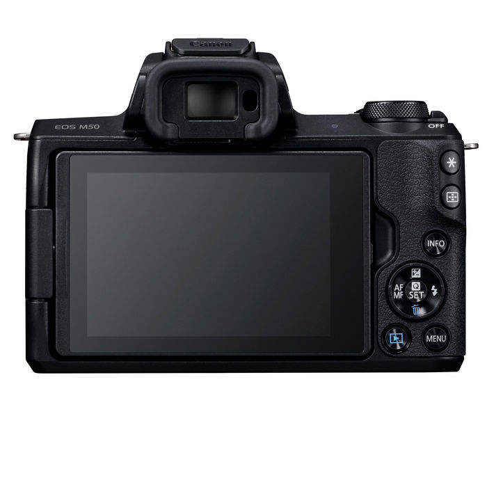 CANON EOS M50 15-45 IS STM BLACK - thumb - MediaWorld.it