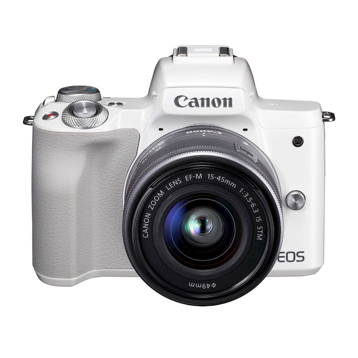 CANON EOS M50 15-45 IS STM WHITE - thumb - MediaWorld.it